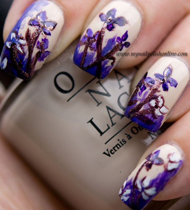 Day6-VioletNails