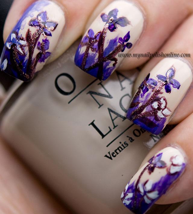 Day6-VioletNails