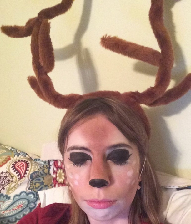 Doe-n't I look cute? (Deer pun lol)