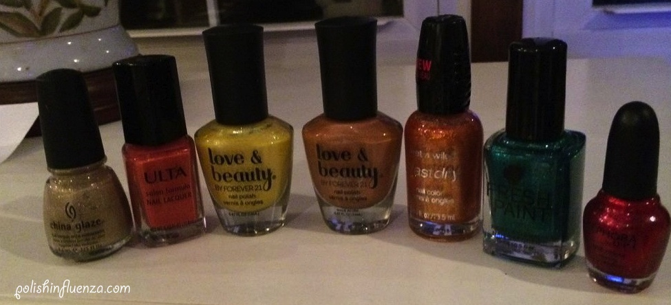 Autumn Inspired Guest Post The Polish Influenza Polished Pr